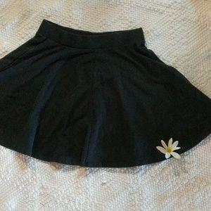 SO Black Skater Skirt